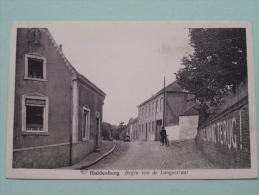 Begin Van De LANGESTRAAT / Anno 19?? ( Zie Foto Voor Details ) !! - Huldenberg