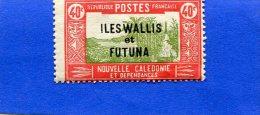 Wallis Et Futuma  40c - Non Classés