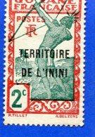 Territoire De L´Inini  RF 2c  Guyane Française