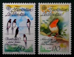 EUROPA 1986 - NEUFS ** - YT 834/345 - MI 893/94 - Liechtenstein