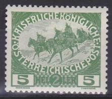 OOSTENRIJK - Michel - 1915 - Nr 181 - MH* - 1850-1918 Impero