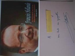François HOLLANDE - Dédicace - Hand Signed - Autographe Authentique - People