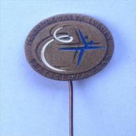 Badge / Pin (Figure Skating) - CSSR Czechoslovakia (Bratislava) European Championship 1966 - Skating (Figure)