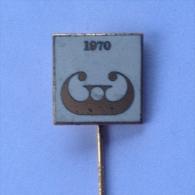 Badge / Pin (Figure Skating) - Yugoslavia Ljubljana World Championship 1970 - Skating (Figure)