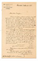 Me Costet, Notaire à Lamastre (Ardèche) - 1898 - Manoscritti