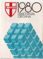TESSERA D. C. DEMOCRAZIA CRISTIANA 1980 - Documents Historiques