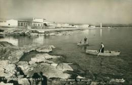 C'an Picafort Mallorca Vista Desde Es Mollet Fischer Peche  Sw Um 1950 - Mallorca