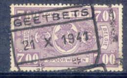 F943 -België  Spoorweg Chemin De Fer   Stempel  GEETBETS - Bahnwesen