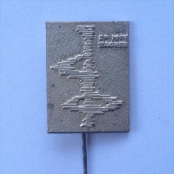 Badge / Pin (Figure Skating) - Yugoslavia Zagreb European Championship 1974 - Skating (Figure)