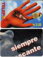 @+ TC Du Perou - Coca Cola (50 000ex) - Pérou