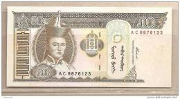 Mongolia - Banconota Non Circolata Da 50 Tughrik - 2000 - Mongolia