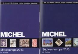 Part 1+7 MICHEL Europa Catalog 2014 New 120€ Stamp Middleeurope A CZ CSR HU FL East-EU Moldawia Polska Russia SU Ukraine - Old Paper