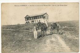 Environs Annecy Arrivée Au Sommet Du Semnoz Le Chalet Hotel Cachet Au Dos Hotel Du Semnoz - Frankreich