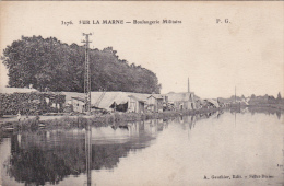3276 - SUR LA MARNE - Boulangerie Militaire ° - War 1914-18