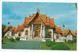 Bangkok : Scene Of The Chapel Wat Benchama Bopitr (the Marble Temple) - Thailand - Thaïlande - Thailand