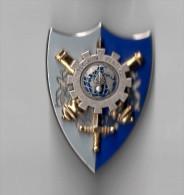 INSIGNE DCMAT DIRECTION CENTRALE DU MATERIEL - LR PARIS G 4839 - Armée De Terre