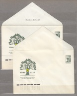 LITHUANIA First Postal Stationery Cover 1990 VARIETIES Look Scan Lot #17172 - Lithuania