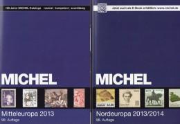 Part 1+5 Stamp MICHEL Europa Katalog 2013 New 120€ Stamps Mitteleuropa: A CZ CSR HU FL SK Nord-EU: SF N S Est Lit DK Lat - Oude Documenten