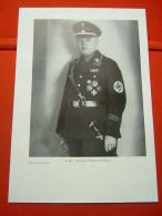 """Offizielles Portraitbild """"NSDAP Gauleiter Loeper Von Gau Magdeburg-Anhalt"""" In Buchdruck!! Für A4-Bilderrahmen(26x18cm) - Allemagne"""