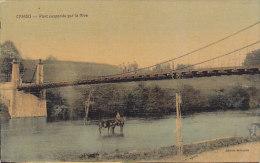 64 - Cambo - Pont Suspendu Sur La Nive (animée, Colorée) - France