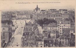 75 - Paris Perspective - Panorama De L'Hôtel De Ville Pris De Notre-Dame - France