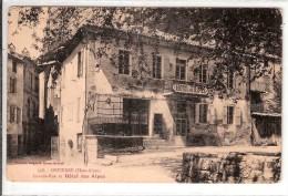 ORPIERRE  AUGUSTE GROS N° 558  HOTEL DES ALPES - France