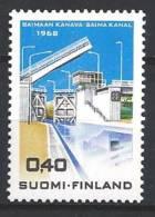 Finlande 1968 N°617 Canal De Saima