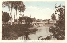 Auxonne - Le Pont Sur La Saône - Auxonne