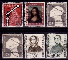 (087-90) Germany / Allemagne / RFA   Small / Petit Lot / Kleines Los  1952-1955  Used / Gestempelt / Oblit. 10% - [7] Federal Republic