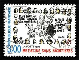 FRANCE  1998 -  Y&T 3205    - Médecins Sans Frontières - Cachet - Gebraucht