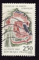 FRANCE  1992  -  Y&T 2763  - Château De Biron    -  Oblitéré - Gebraucht