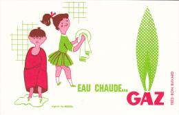 Buvard Eau Chaude Gaz - D´après Fix Addeau - Excellent état - - Electricity & Gas