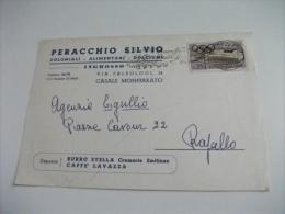 PERACCHIO SILVIO COLONIALI ALIMENTARI DOLCIUMI INGROSSO CASALE MONFERRATO  DEPOSITO BURRO STELLA CAFFè LAVAZZA  PUBBLIC. - Negozi