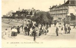33/CPA A - Arcachon - La Promenade De La Plage - Arcachon