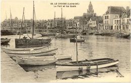 44/CPA - Le Croisic - Le Port Et Les Quais - Le Croisic