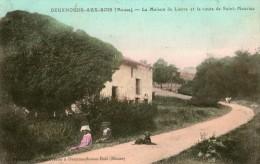 """DEUXNOUDS-AUX-BOIS  MEUSE """" La Maison De Lierre Et La Route De Saint-Maurice """" - Autres Communes"""