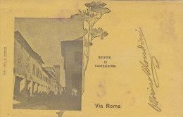 $3-2801- Ricordo Di Castelleone - Via Roma - Cremona - F.p. Viaggiata 1900 - Cremona