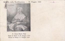 $3-2802- Siena - Ricordo Della Beatificazione Anna Maria Taigi - F.p. Viaggiata - Siena