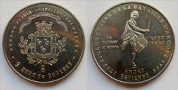 3 Euro Temporaire Precurseur De CADENET 1996, RRRR, UNC, Nickel, Nr. 156 - Euro Der Städte