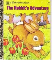 THE RABBIT'S ADVENTURE LITTLE GOLDEN BOOK REN WRIGHT ILL. SWANSON - Children's