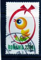 RUMANIA / ROMANIA / ROUMANIE  Año 2001 Yvert Nr.4663 Usada  Pascua - 1948-.... Repúblicas