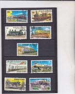 DJIBOUTI : Locomotives Et Trains : Y&T : O : - Djibouti (1977-...)