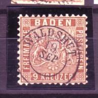 Baden  Nr.  15a       ( Y8882   ) Siehe Scan Vergrößert ! - Baden