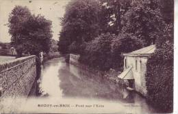 77 ROZOY EN BRIE - Pont Sur L´yère - D12 58 - Rozay En Brie