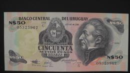 Uruguay - P 61A - 50 Nuevos Pesos - 1988 - Unc  - Look Scan - Uruguay