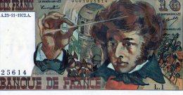 10 Fr Berlioz 23/11/1972 - 10 F 1972-1978 ''Berlioz''
