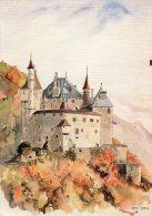Menthon Saint Bernard Chateau (aquarelle Reproduction) - Otros Municipios