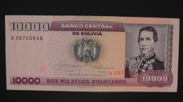 Bolivia - P 195 - 1 Centavo On 10000 Pesos  - 1987 - Unc  - Look Scan - Bolivien