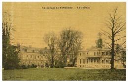 CLERES Rare Colorisée Tramée Collège De Normandie Le Château (Bauchet) Seine-Maritime (76) - Clères