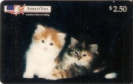 *U.S.A. - AMERIVOX* - Scheda Usata - Amerivox